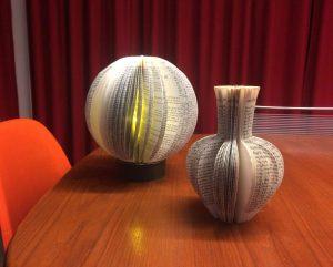 Lampe et vase de Delphine