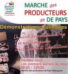 Marché de producteurs de Matougues (51)