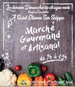 Marché gourmand et artisanal de Saint-Etienne-sur-Suippe (51)