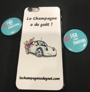 Coque La Champagne a du goût !
