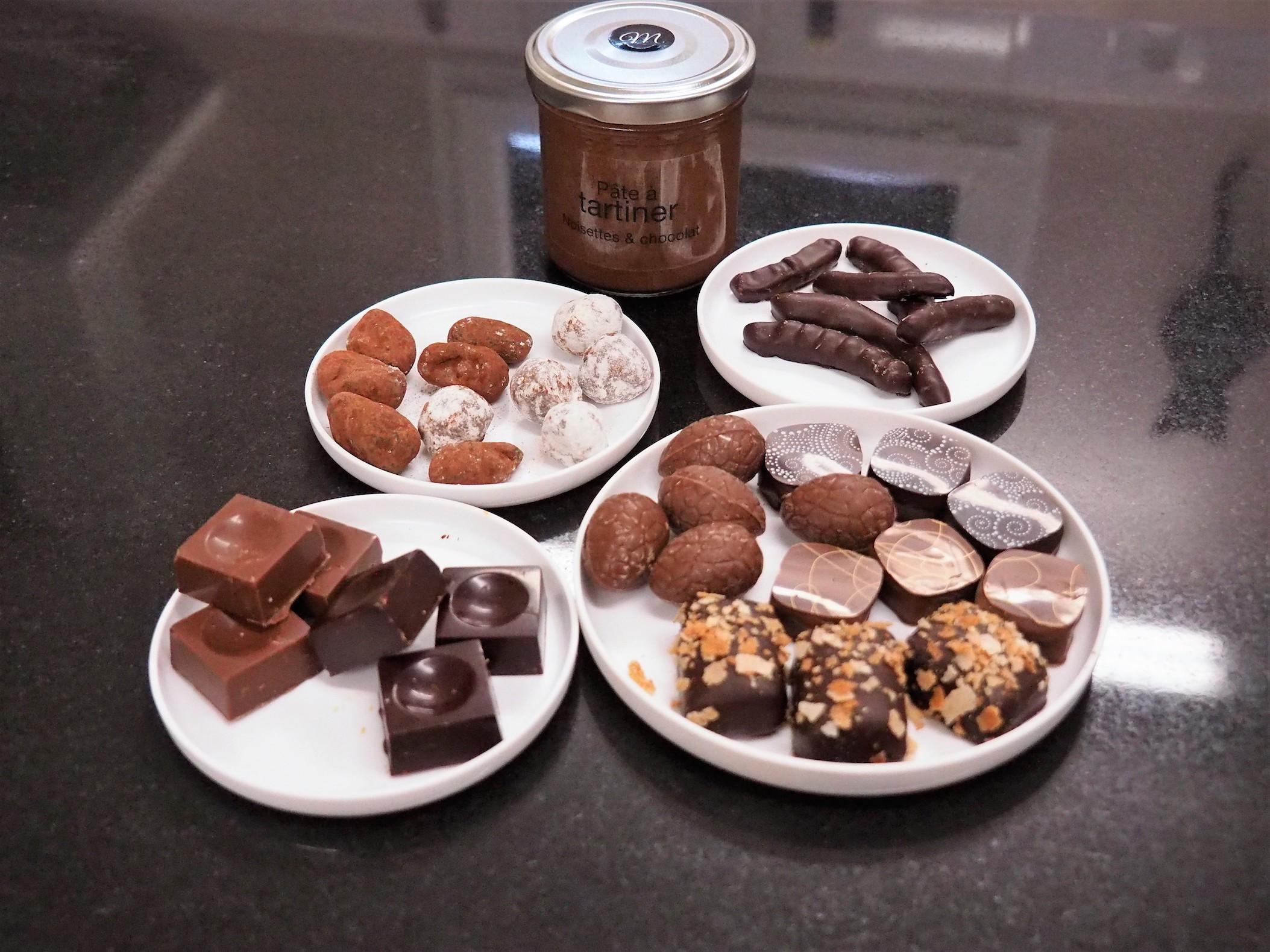 Du chocolat sous toutes les coutures