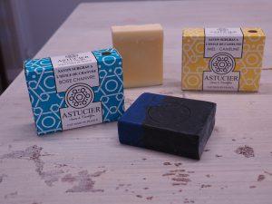 L'Astucier, des savons et cosmétiques naturels fabriqués à Somme-Tourbe