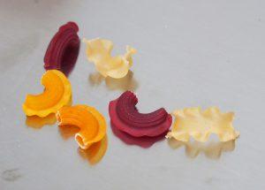 Formes des pâtes Les Nominettes
