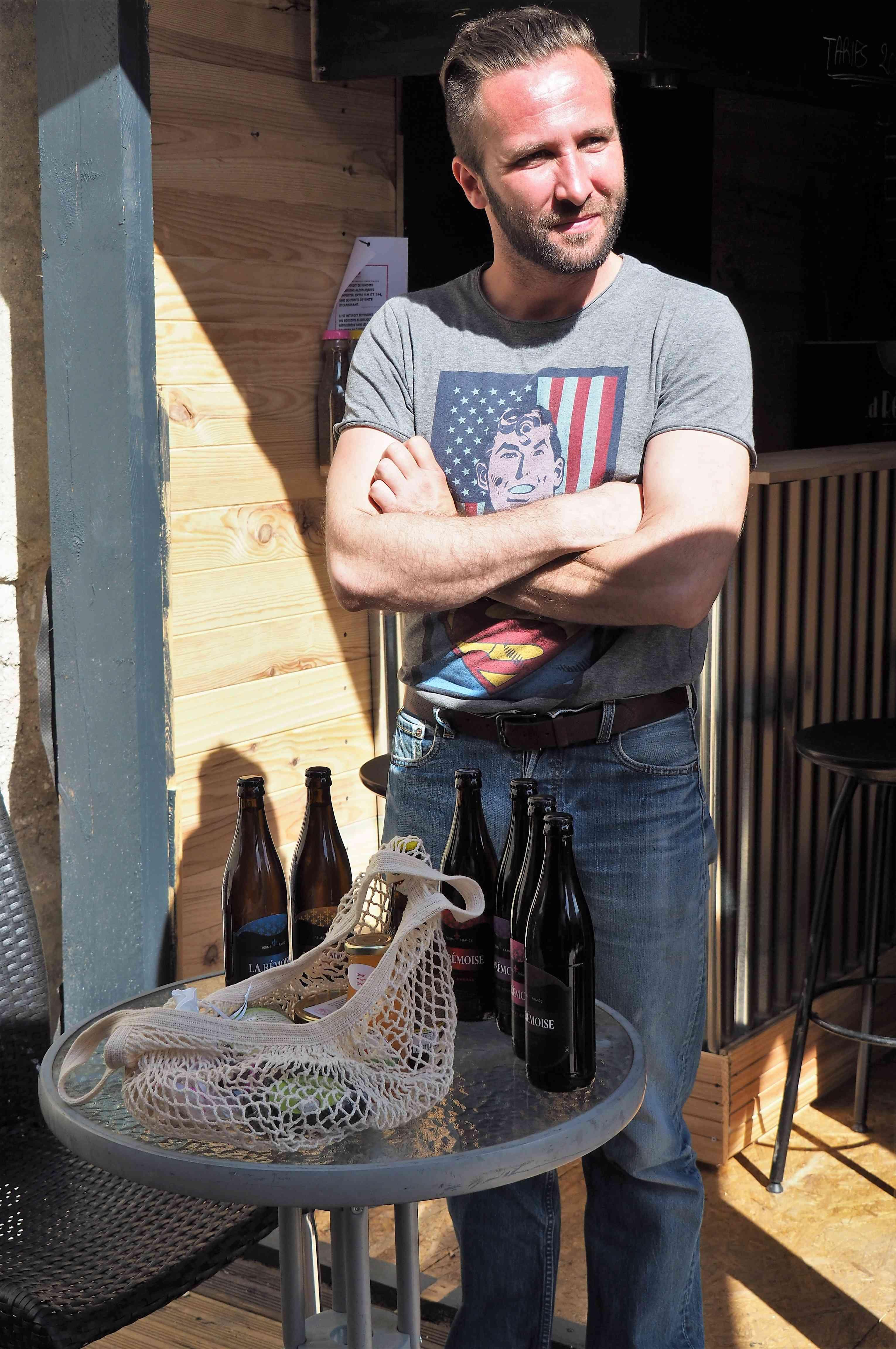 Irwin KUNZI, gagnant du concours de La Champagne a du goût