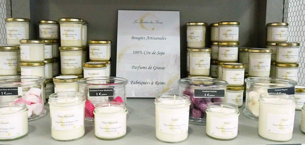 La lumière des Sacres, des bougies artisanales fabriquées à Reims