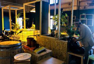 Zen et fraîcheur de l'aquaponie, Quartier Libre