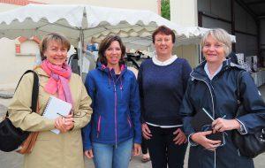 Sophie, Christelle, Brigitte et Caroline