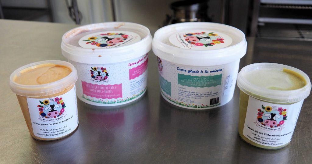 Au bon lait de Marguerite, de savoureuses glaces artisanales