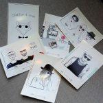 Déclinaison de cartes postales Charlie & Josh