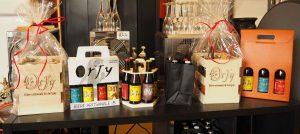 Présentation pour cadeaux de la gamme bière Orjy