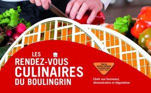 Les Rendez-Vous Culinaires du Boulingrin 2019