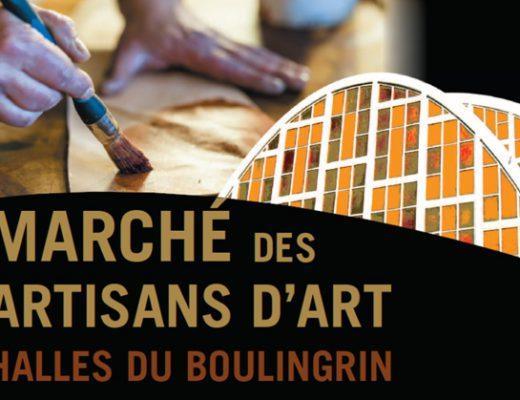 Marché des artisans d'art du Boulingrin