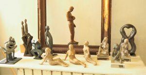 """""""Etre 2, penser 1"""", """"Joseph"""", """"Etre 2 à l'infini""""... Autres sculptures de Marine"""