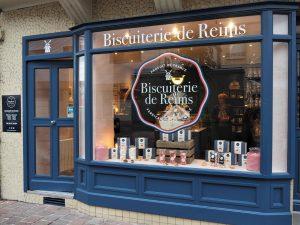 La nouvelle boutique, rue de Mars à reims