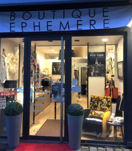 Boutique Ephémère, rue des Capucins à Reims