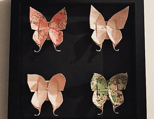 """Tableau """"papillons"""", prêts à s'envoler..."""