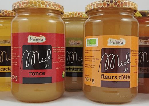 La gamme des miels