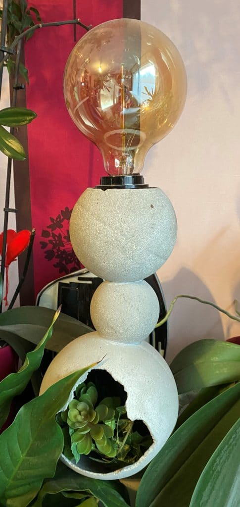 Lampe 3 sphères