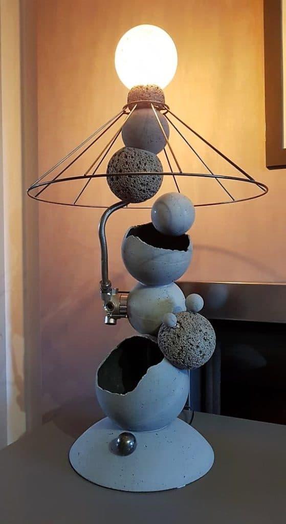Lampe 7 sphères