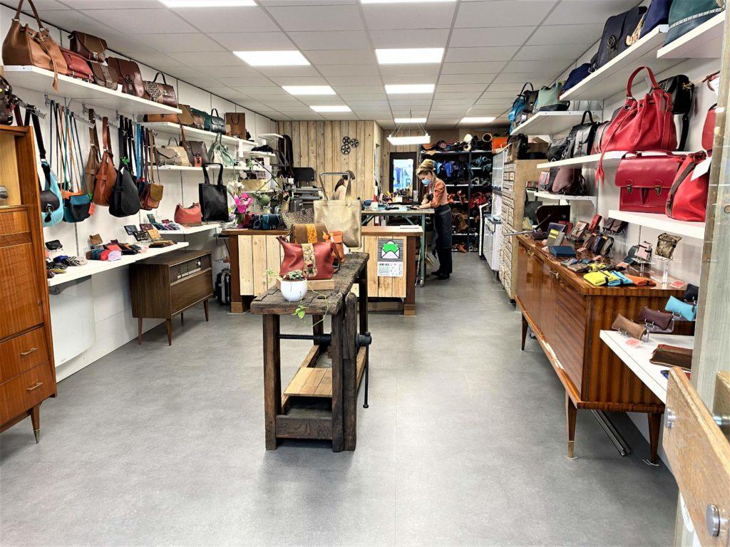 L'atelier-boutique Pixie Cuir de Jessica