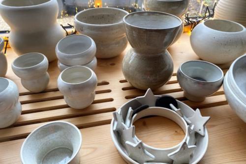 Gobelets, bols, vases, pots…