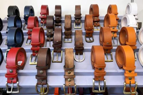 Et les ceintures pour homme !