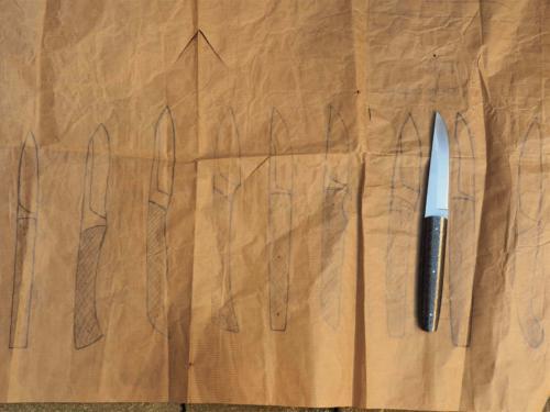 Projets du couteau de L'assiette Champenoise