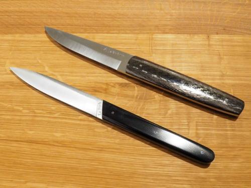Couteaux des restaurants L'Assiette Champenoise et Le Foch