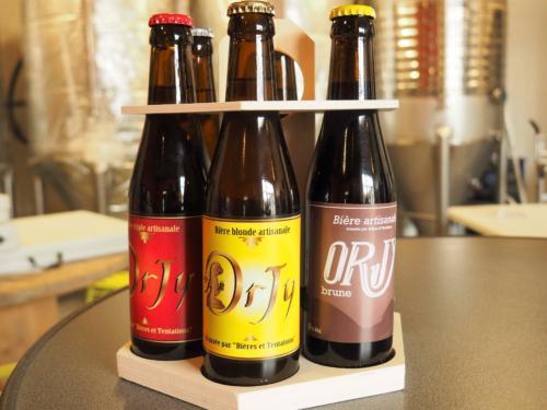 La gamme Orjy : triple, blonde, brune...