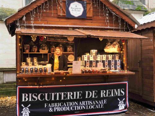 La Biscuiterie de Reims, et leurs madeleines gourmandes... entre-autres !