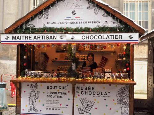 Le chalet de Frédéric LEFEVRE et sa Chocolaterie Champenoise