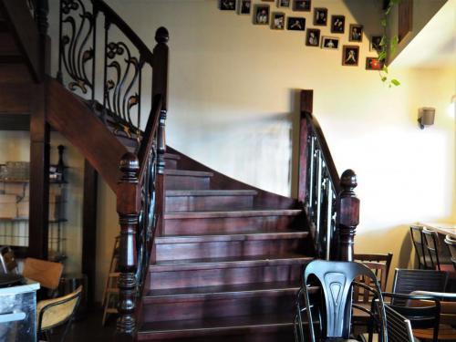 L'escalier de style art-déco