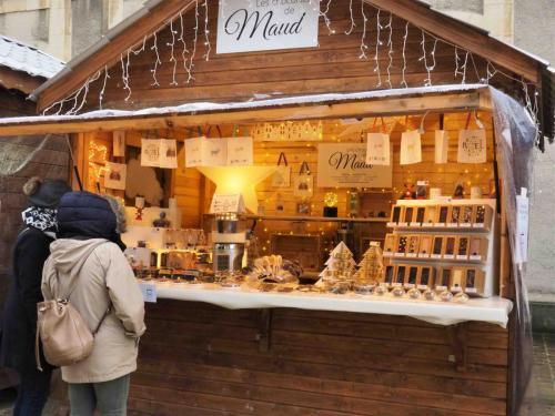 Les Chocolats de Maud et son chalet-écrin