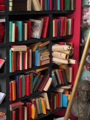 Détail de la bibliothèque : tout y est ...